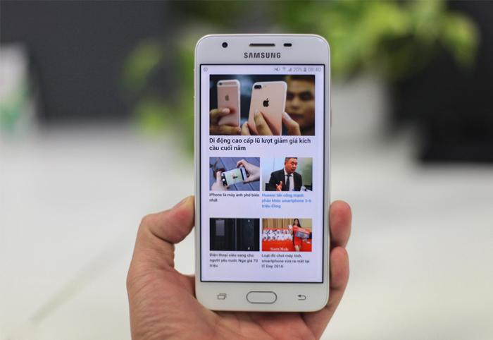Samsung Galaxy J5 Prime - Đánh giá màn hình